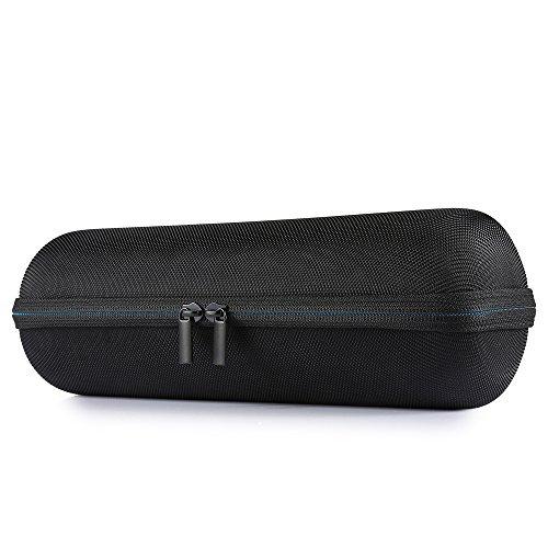 Poschell Hard EVA Carrying Case Shockproof Shell Travel Bolsa de almacenamiento para Logitech UE Megaboom Altavoz portátil Bluetooth (Negro)