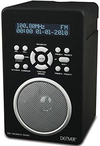 Denver DAB-43PLUS Radio (DAB+/FM, Smart-Design, Wecker, AUX-in)