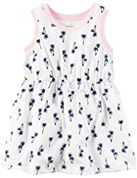 Carters Baby Girls Sleeveless Jersey Dress (9 Months