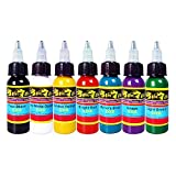 Solong Tattoo kit tatuaggio 7 colore inchiostro tatuaggio Tattoo Ink Set TI301-30-7