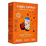 #6: Happy Tummys Apple Cranberry Snack Bar (Pack of 5)