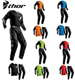 Thor Tuta da Motocross Sector MX Combinazione di Jersey e Pantaloni Moto Tuta da Bici ATV BMX Quad...
