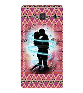 iFasho couple kissing Back Case Cover for Redmi 2S