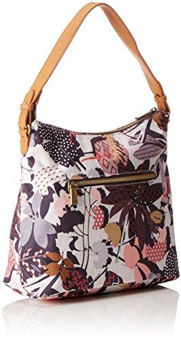 Oilily Damen M Shoulder Bag Umhängetasche, 13 x 25.5 x 30 cm Grau (Charcoal)