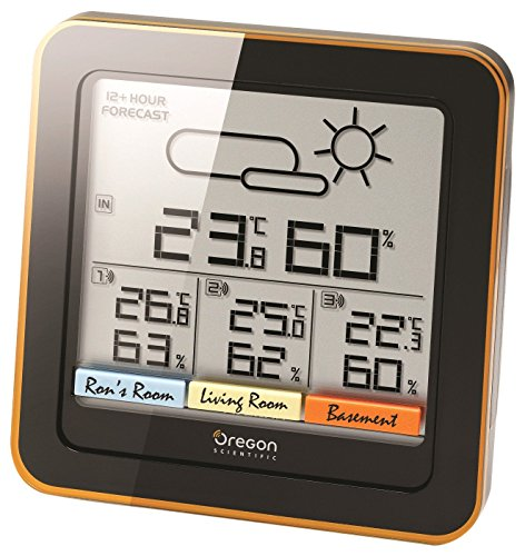 Oregon Scientific Rar 502, stazione meteo con tre sensori wireless