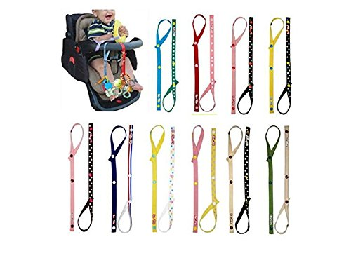 Tfxwerws lovely Baby Stroller Bottle Holder Toy Hanging strap