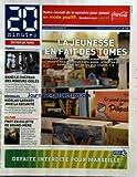 20 MINUTES [No 1723] du 25/11/2009 - LA JEUNESSE EN FAIT DES TOMES / SALON DE LIVRES -CATHERINE FROT EN CULOTTE DE GRAND-MERE / ALBERT DUPONTEL - SARKOZY JOUE LA SECURITE -DANS LE CHATEAU DES MINEURS ISOLES A TAVERNY