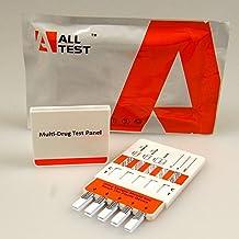 5 x 10 panel drug testing kit cannabis cocaina ecstacy speed ketamina eroina metamfetamina buprenorfina benzo s