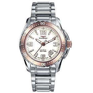 Reloj Sandoz The Race 81290-90 Mujer Blanco