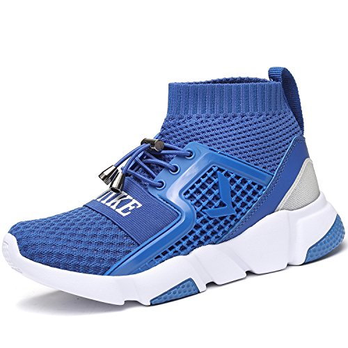 Sneakers Jungen Laufende Mädchen Schuhe Kinder Mesh Sportschuhe Turnschuhe Unisex-Kinder (Mesh High Top)