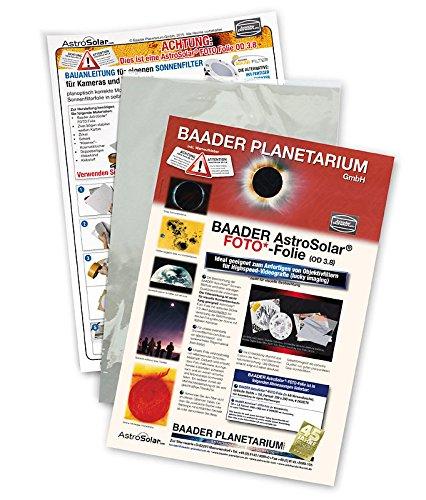 Baader AstroSolar SonnenfilterFolie ND3,8 für Astro Fotografie Format ca. 20 x 29...