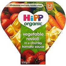 Hipp Bio Ravioli di verdure in salsa di pomodoro 230G Chunky