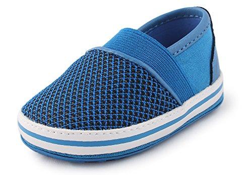 Cartoonimals Babyschuhe Mädchen Jungen Neugeborene Weiche Rutschsicheren Baby Kinder Schuhe Elastic Slip On Blue
