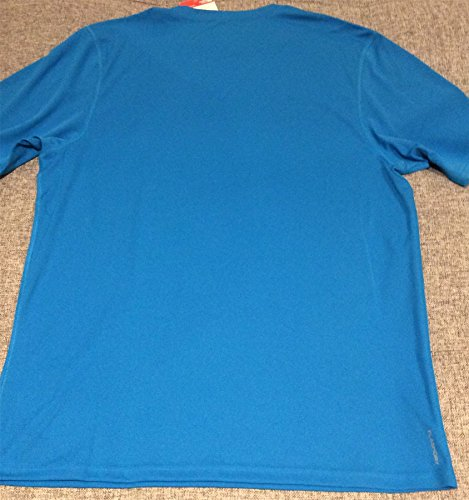 The North Face M Flex S/S EU T Shirt, Herren L Blau (Hyper-Blau)