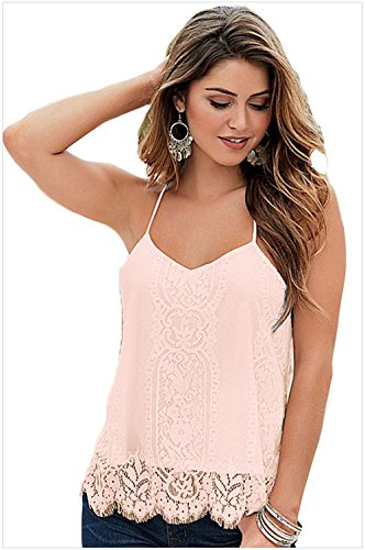 meinice smerlato pizzo canotta Pink Large