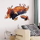 WAPE-fire eagle persönlichkeit schlafzimmer, wohnzimmer büro restaurant dekorative wand aufkleber pvc - aufkleber 70cm 50 *
