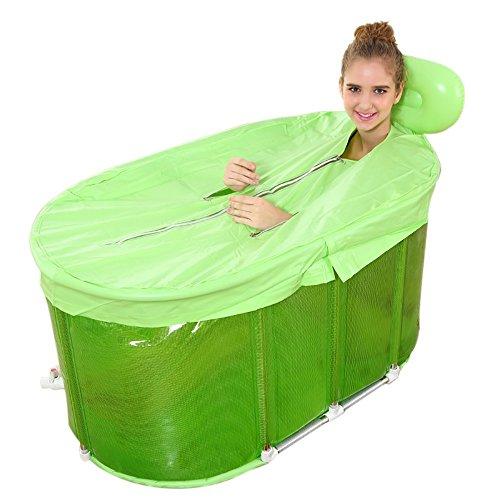 TINGTINGDIAN Oval Edelstahl-Halterung Baby-Pool-Twin-Baby-Pool-Pool Umweltfreundliche Materialien, Raum zu erhöhen