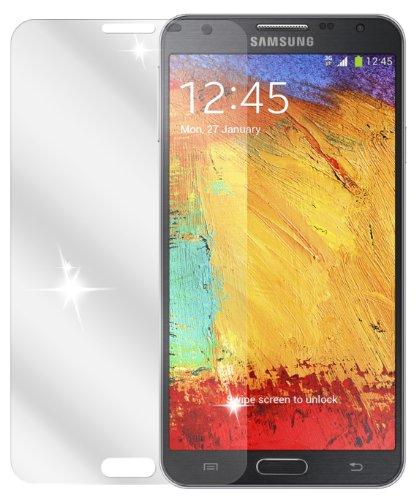 Ecultor I 6x Schutzfolie klar passend für Samsung Galaxy Note 3 Neo Folie Displayschutzfolie
