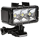 T.Face Waterproof 30m Diving Light High Power Dimmable LED Underwater Light For GoPro Hero 6 5 Black 4 3 SJCAM Yi 4k H9 Accessory