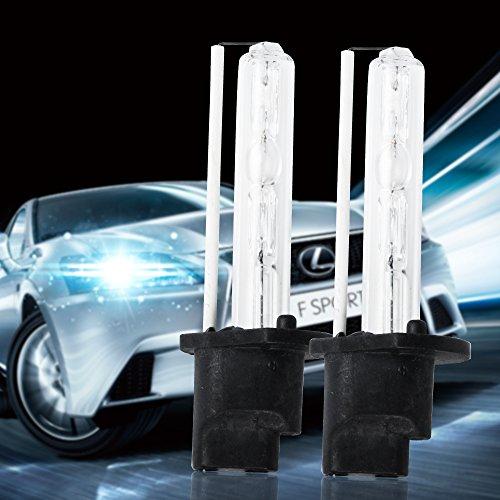 mihaz Super Bright 12V 35W/55W Xenon HID Kit di conversione H1H3H4H7H11900590066000K Fari Fendinebbia Luce Lampadine di