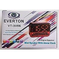 Everton RT-857 (VT-3056) Masa Saati ve Radyo Alarm Çalar Müzik Kutusu