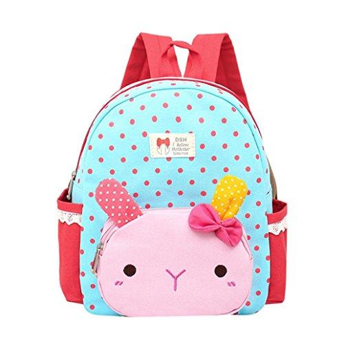 Backpack,Ba Zha  2018 Children Baby Girls Boys Kids Cartoon Rabbit Animal Backpack Toddler School Bag Travel Satchel Bag Cartoon Bag Designer Bags Coin Purse Character Shoulder Bags