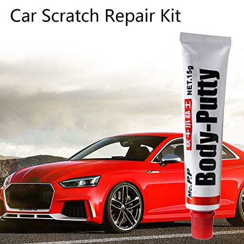 crazerop Reifenfarbe Marker Pens Marker Pens Car Body Putty Scratch Filler Lackierstift-Assistent Glattes Reparaturwerkzeug Auto Care Car-Styling 15g Improvement