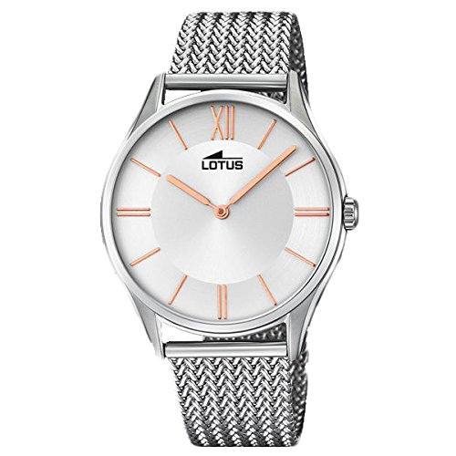 Lotus Minimalist 18487/2 Mens Wristwatch Design Highlight