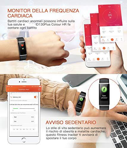 Zoom IMG-3 fitness tracker orologio impermeabile ip68