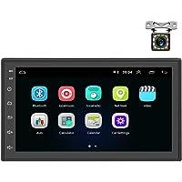 Autoradio Android 2 Din GPS CAMECHO Bluetooth WiFi recopie de l'écran capacitif de Lecteur de Radio FM à écran Tactile…