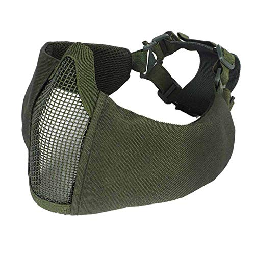 Cs Party Cosplay Maske Halffass Airsoft Cs Game Paintball Maske Für Outdoor Ear Protection Foldable Breathable Apparel Accessory g