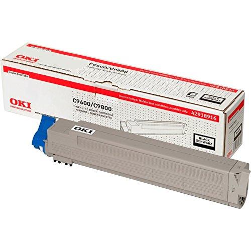 OKI 42918916 Tonerkassette schwarz für C9600 / C9800 -