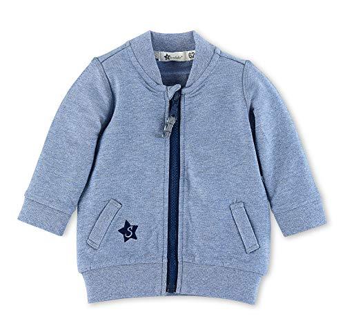 Sterntaler Sweat-Jacke für Jungen mit Reißverschluss, Alter: 9-12 Monate, Größe: 80, Blau - Größe 10 Jungen Jacke