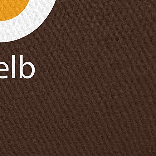 ... Texlab iGelb - Damen T-Shirt Braun ...