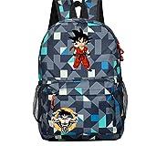 Yoyoshome Dragon Ball Z Goku Cosplay pour sac à dos Sac à dos Sac d'école, Dragon Ball (Couleur) - 11fedDsJBghtmny
