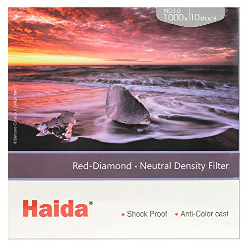 Haida Serie 100 Red Diamond ND 3.0 (1000x) 10 Stops  - 3 Stop-nd-filter