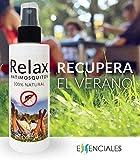 Relax Antimosquitos 100% Natural con aceites esenciales y vegetales de 1º presión - 100 ml