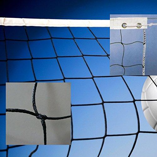 Redes de volley modelo amateur. Polietileno trenzado 3mm ø