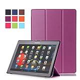 WindTeco Lenovo Tab 10 TB-X103F / Tab3 10 Plus Hülle, Schutzhülle Tasche mit Auto Schlaf/Wach Funktion für Lenovo Tab 2 A10-30 / Tab 2 A10-70 / TAB3 10 Plus/Tab 3 10 Business 10.1
