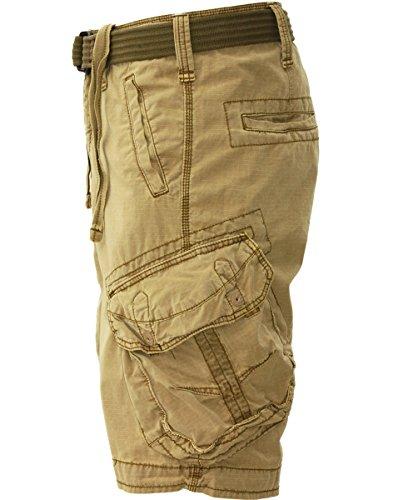 JET LAG Cargo Shorts Take off 3 in schwarz, oliv, charcoal, cement oder gold Gold