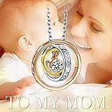 Pauline & Morgen Damen Halskette Mama Ich liebe dich - 4