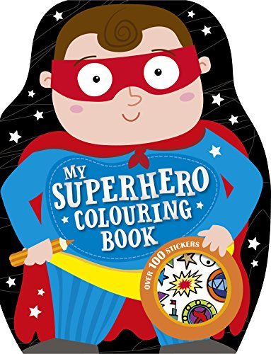 My Superhero Colouring Book