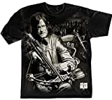 Official T Shirt THE WALKING DEAD Zombie Daryl Dixon Crossbow XXL