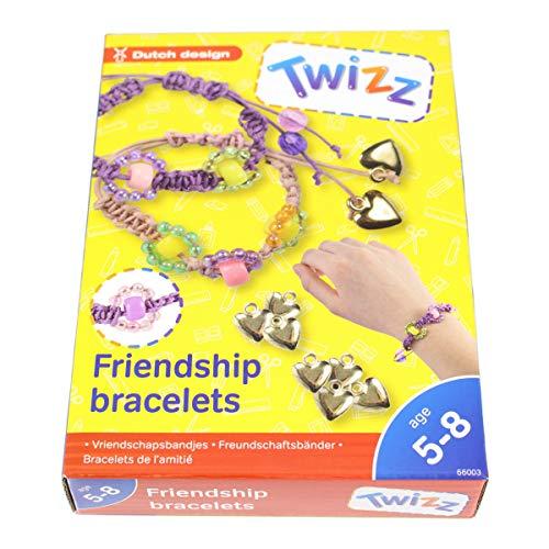 Smart Planet Twizz Kinder Freundschaftsbänder Set Bänder Perlen zum Basteln kreativ Sein Geschenk Kinder Mädchen