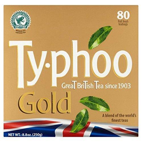Typhoo Gold Teabags 80 per pack