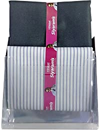 Siyaram's Men's Combo of Unstitched Trouser and Shirt Fabric Multicolour_2.25m