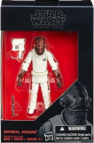 Star Wars Wars Wars Hasbro The Black Series – Admiral Ackbar – Figurine Articulée 9,5 cm | Valeur Formidable  00d2bd