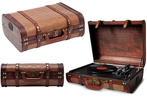 Kofferschallplattenspieler