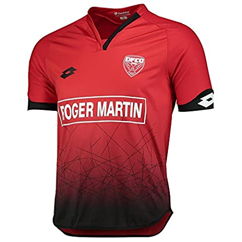 Lotto Mens Gents Football Soccer Dijon FCO Home Shirt Jersey Top 2016-17 - M