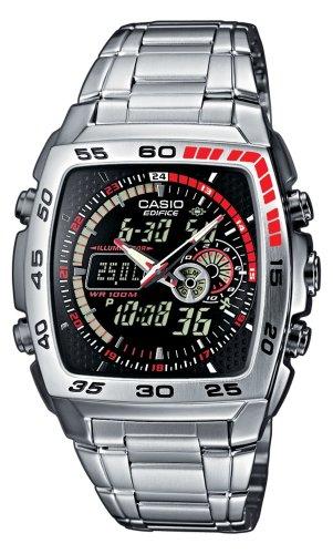 Casio Edifice Herren-Armbanduhr Analog / Digital Quarz EFA-122D-1AVEF